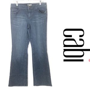 CAbi classic bootcut jeans size 10